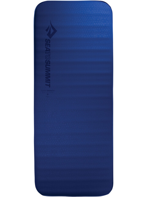 Sea to Summit Comfort Deluxe S.I. Mat Large Wide blue